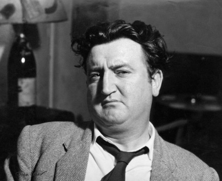NPG x88613; Brendan Behan by Ida Kar