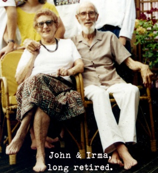 JOHN AND IRMA BLOG